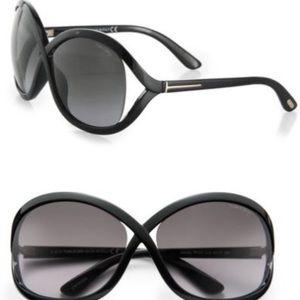 Tom Ford Sandra Sunglasses (Black)